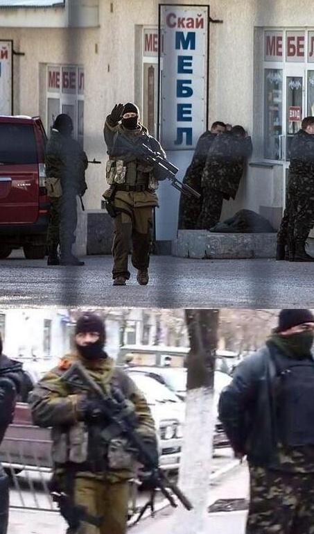 Вооруженные в Красном Лимане