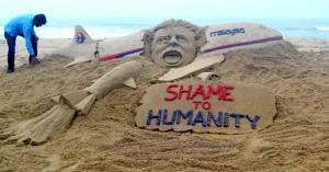 Погибших в катастрофе оплакивают и в Индии (фото из Фейбука Sudarsan Pattnaik)