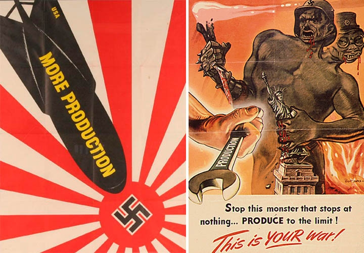 the differences between the american propaganda and the german propaganda The minister of propaganda that really controlled the german propaganda machine the american differences between propaganda in war.