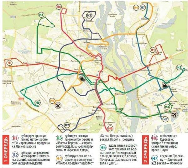 Схема маршрутки киева
