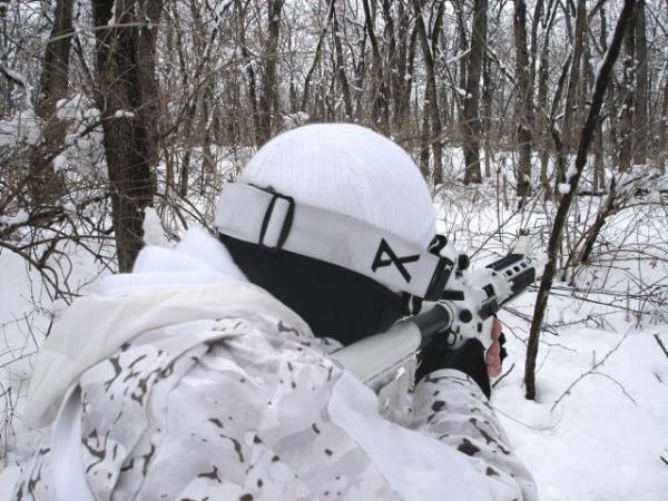 Образец зимнего маскировочного обмундирования (фото pinterest.com)