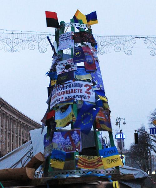 Новогодняя елка барбакановцев