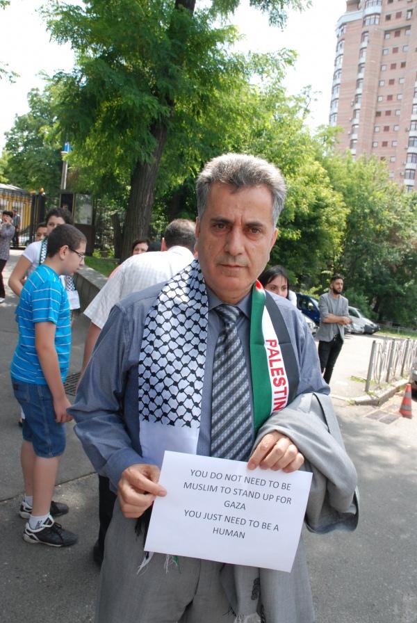 Глава палестинской диаспоры Амро Халиль