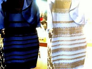 Бело-золотое или сине-черное платье видео