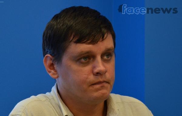 Участник АТО Сергей Товстик
