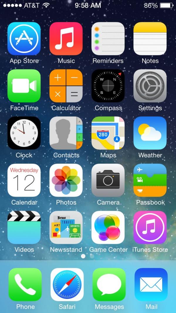 Apple выпустила операционную систему iOS 7