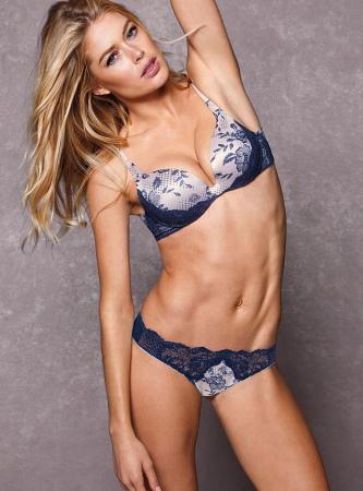 Нидерландская супермодель снова продемонстрирует нам новинки от известного  модного женского бренда нижнего белья. Большинство моделей белья были ... df774cb572b