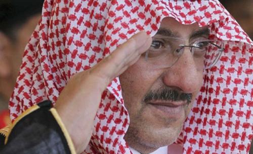 Министр внутренних дел Саудовской Аравии Мухаммед бин Найеф