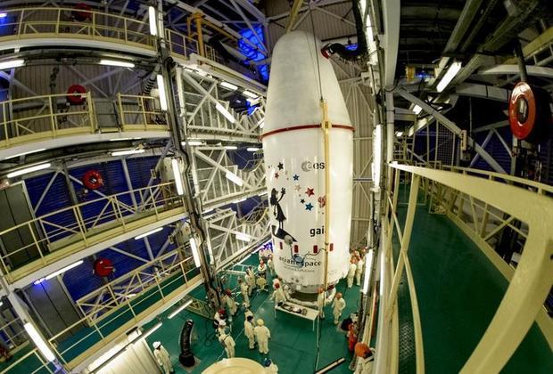 Гайя перед запуском