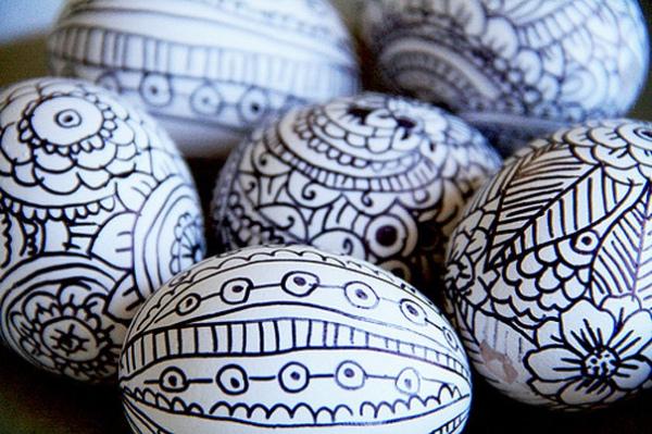 Украшаем яйца на Пасху своими руками - 15 креативных ...