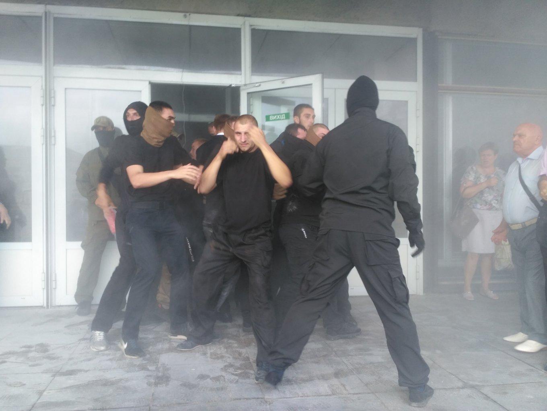 Рейдерский захват ГП «Электронмаш», черный госсекретарь Алексей Перевезенцев и ПАО «Лигобуд»
