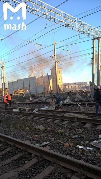 Последствия взрыва на пиротехническом заводе в России