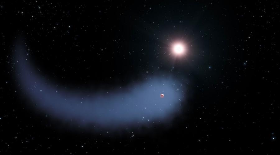 Gliese 436b и Бегемот в представлении художника