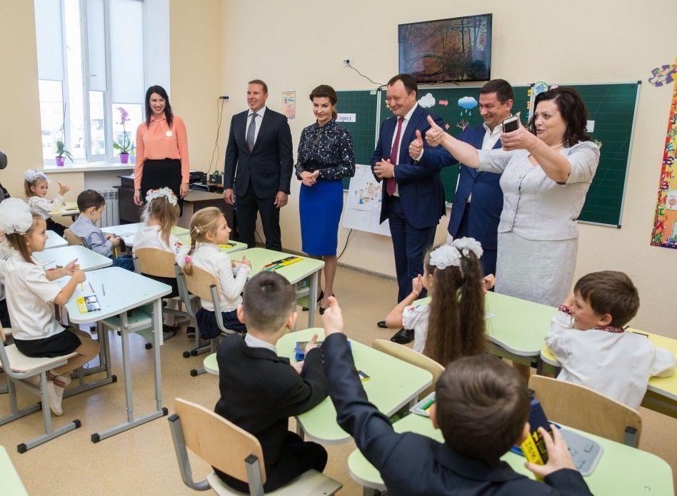 Марина Порошенко посетила с рабочим визитом Запорожскую область