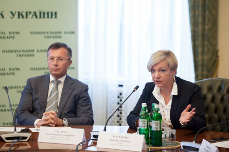 Александр Писарук и Валерия Гонтарева