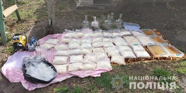 В Киеве разоблачили международных наркоторговцев