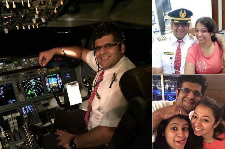 Пилот, управлявший лайнером