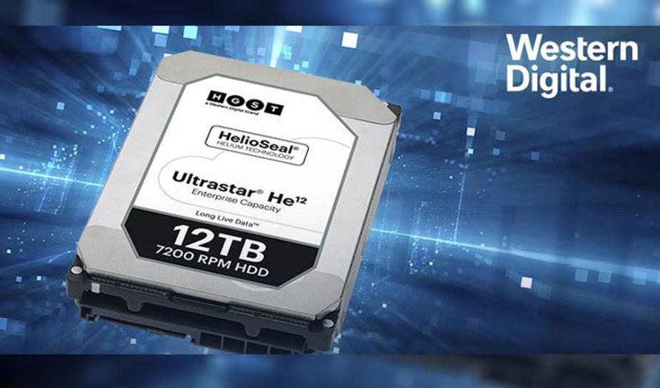 Western Digital представила 14-Тбайт 3,5-дюймовый жёсткий диск