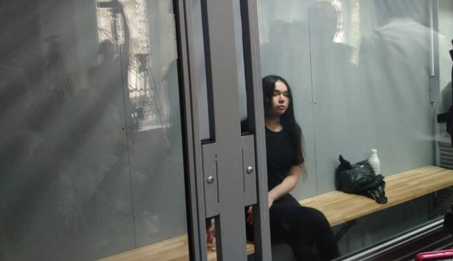 Фото: Елена Зайцева в зале суда