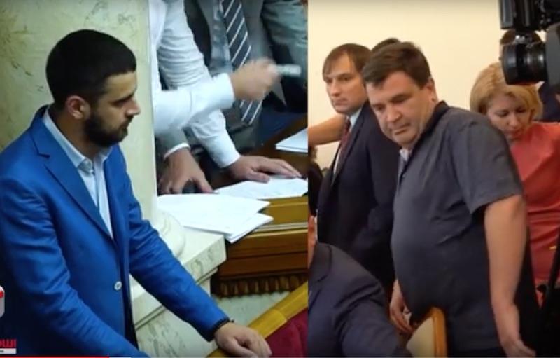 Народный депутат Евгений Дейдей и бизнесмен Игорь Личевский