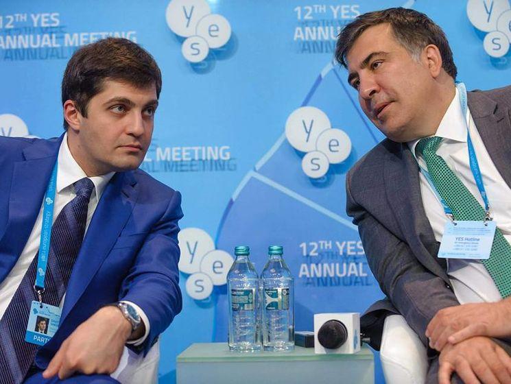Саакашвили и Сакварелидзе после отставок занялись активной политической деятельностью в Украине