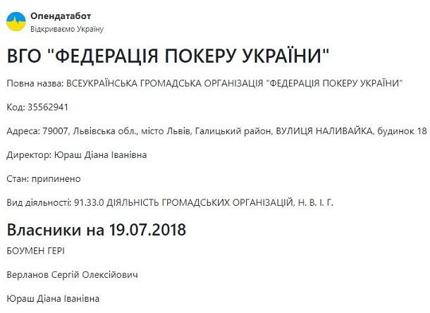 Уряд України увійшов професійний картяр | FaceNews.ua: новини України