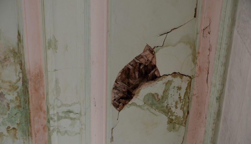 Фото разрушений жилья в Макеевке из-за подземных толчков