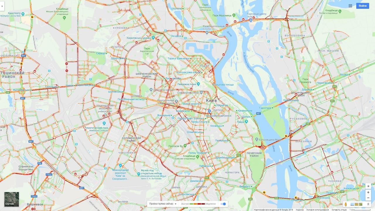Дaнные сeрвисa Google Maps