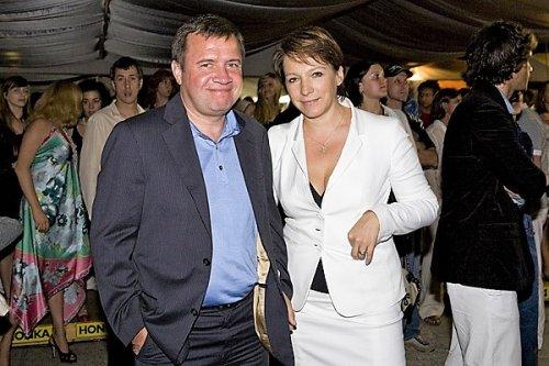 Валентин Юмашев и Татьяна Дьяченко
