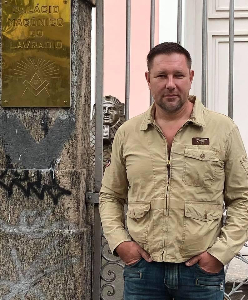 Константин Стогний в экспедиции в Амазонии