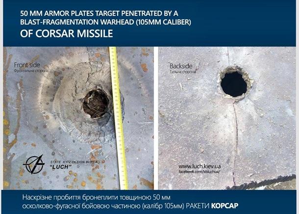Вгосударстве Украина благополучно испытали современный ракетный комплекс
