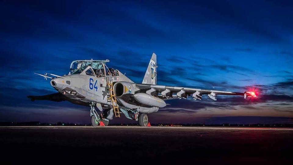 Су-25УБМ1 б/н 64 «синий» ВС ВСУ, фото © Jean-Paul Lardinoi