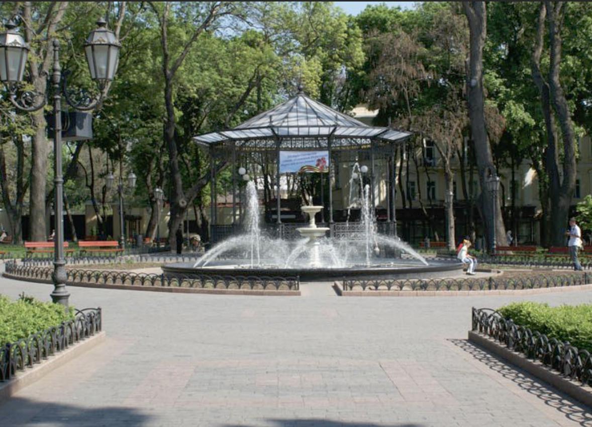 Одесский фонтан