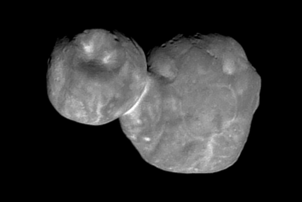 Лучшее изображение Ультима Туле (2014 MU69). NASA/Johns Hopkins University