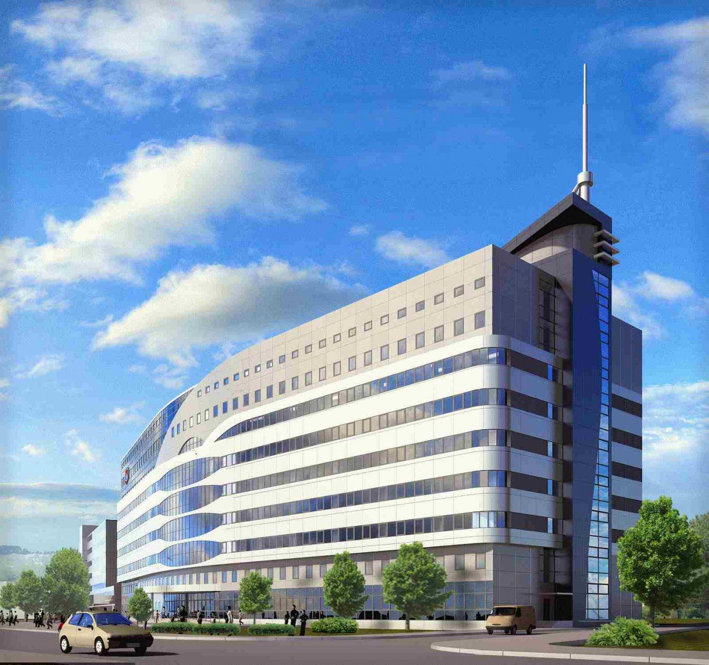 Так должен выглядеть новый корпус института Амосова в Киеве