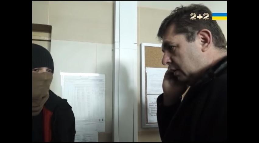 Александр Третьяков в офисе УНЛ