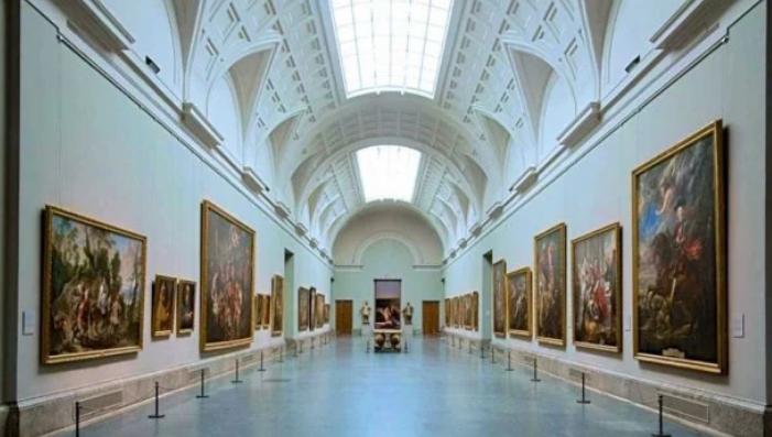 Экспозиция в музее Прадо