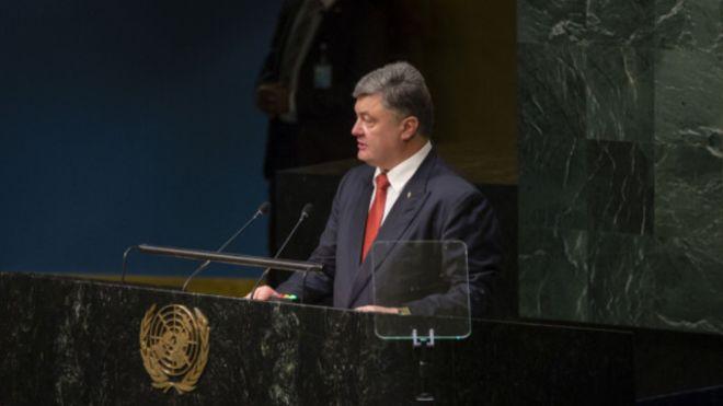 АгрессияРФ заставила 1,8 млн. украинцев искать убежище— Порошенко впредставительстве международной организации ООН