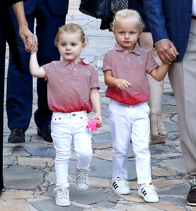 Принц Жак и Принцесса Габриэла из Монако