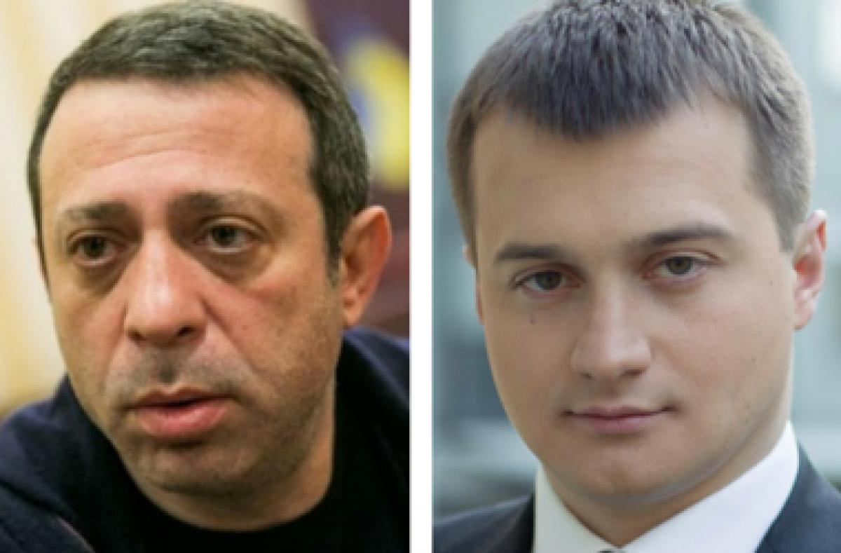 Сергей Березенко и  Геннадий Корбан