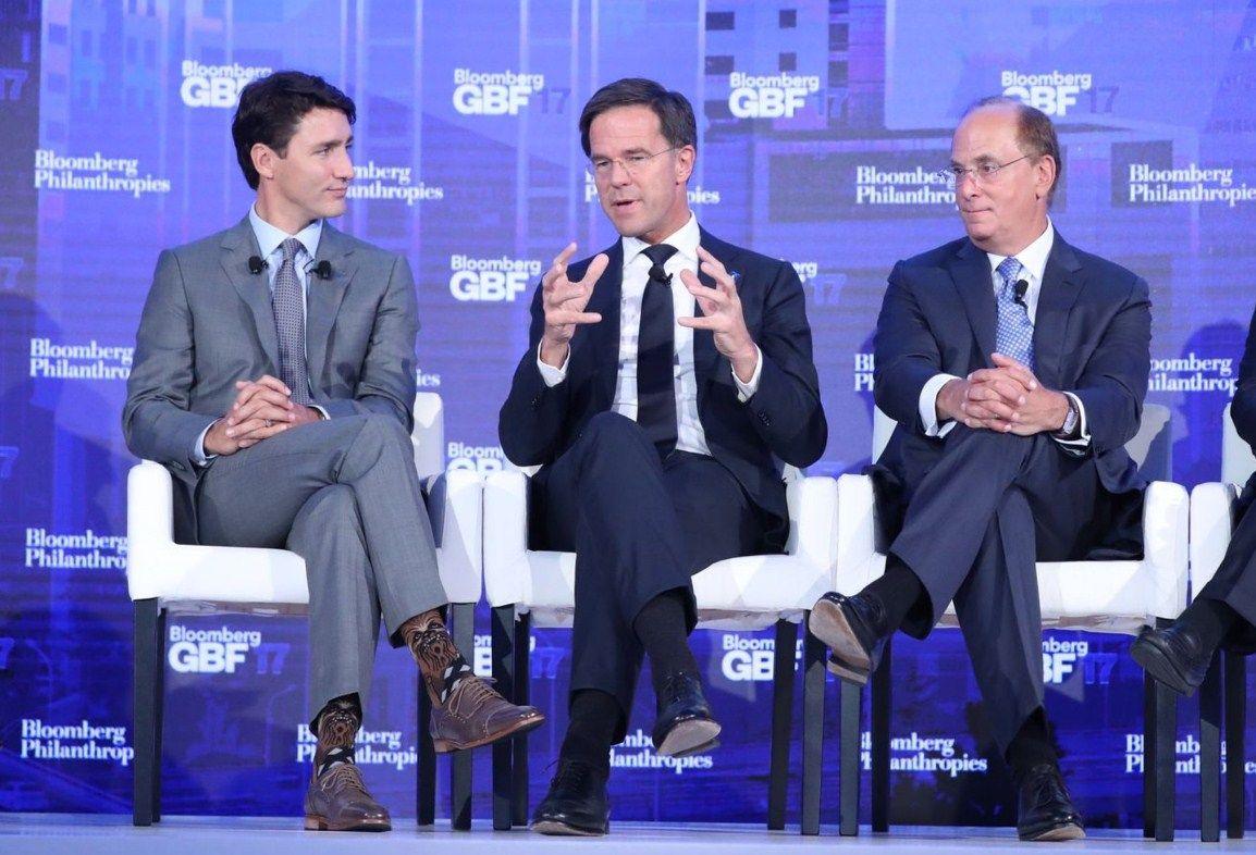 Премьер Канады выступил наэкономическом пленуме вносках сЧубаккой