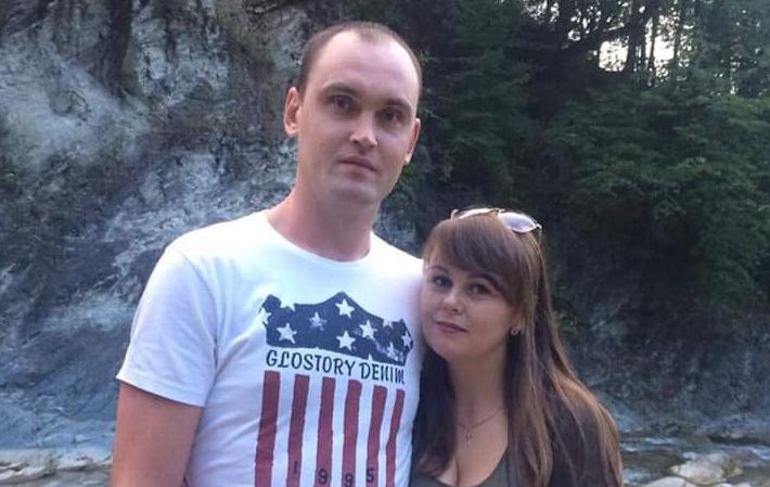 Андрей Романица с женой Фото: Facebook