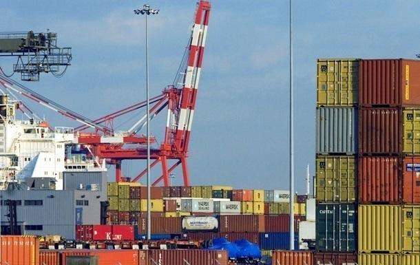 Внешняя торговля Украины ушла вминус на1,5млрддолл.