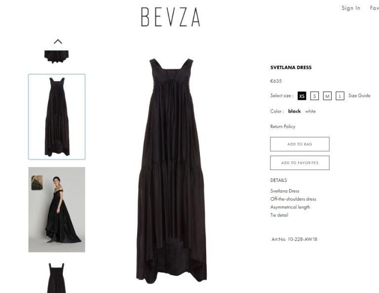 Стоимость дизайнерского наряда составляет 635 евро (19,800 гривен)