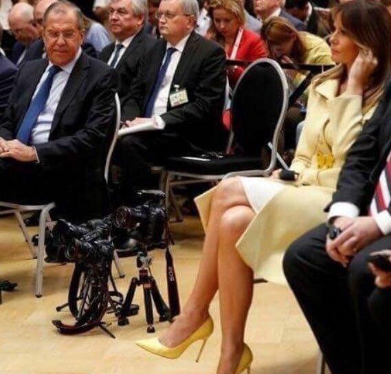 Лавров восторженно описал результаты переговоров В. Путина иТрампа