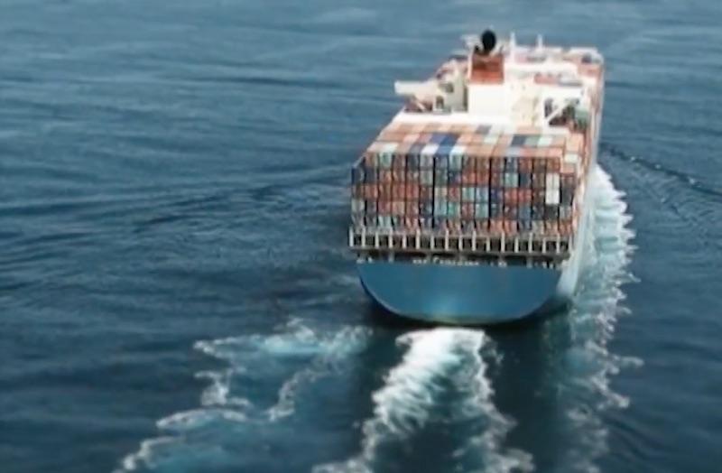 Мегакорабли из Шанхая везут китайский товар в Украину