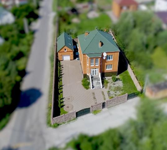 Незадекларированный дом Александра Омельчука, в котором он проживает по факту