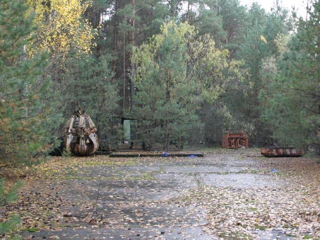 В Чернобыле предмет с убийственной радиацией лежит в свободном доступе