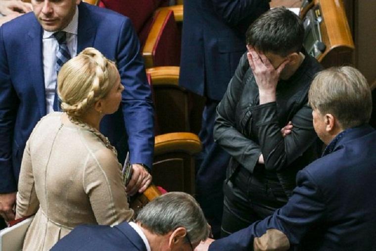 ВБатьткивщине нехотят лишать Савченко мандата