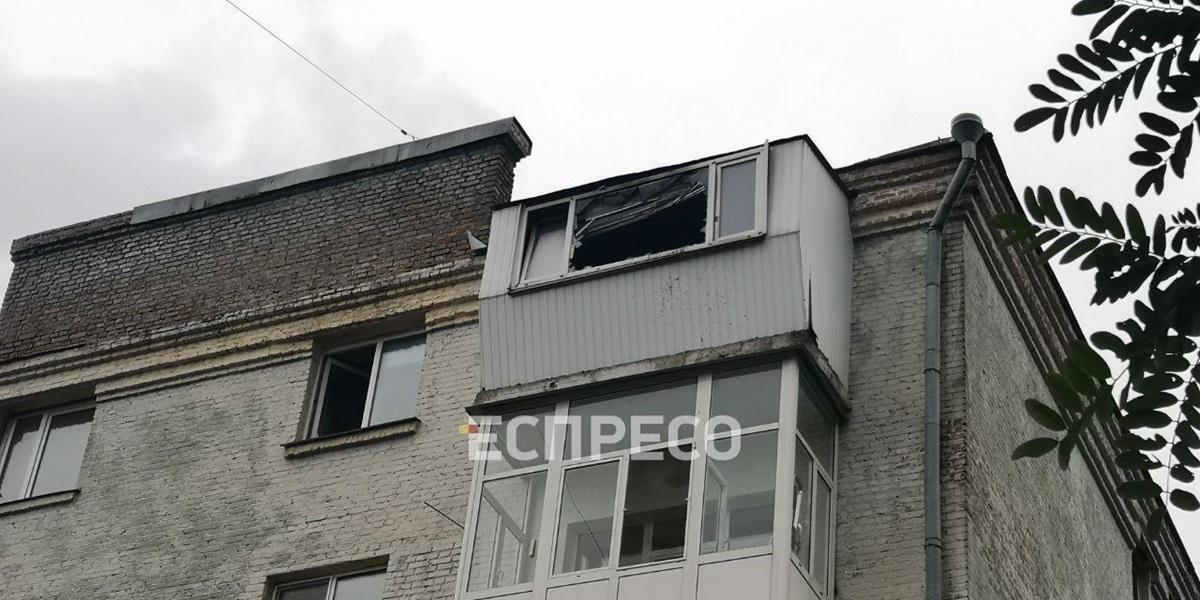 На Лукьяновке в квартире произошел взрыв